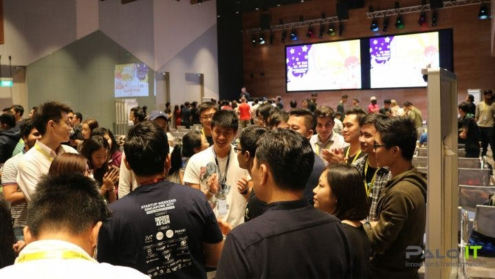 startup weekend singapore, networking