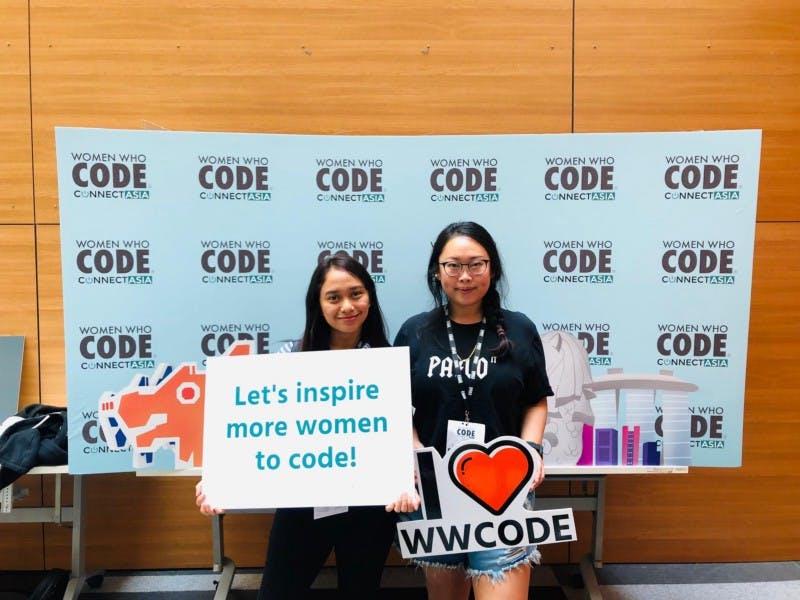 women who code, signage