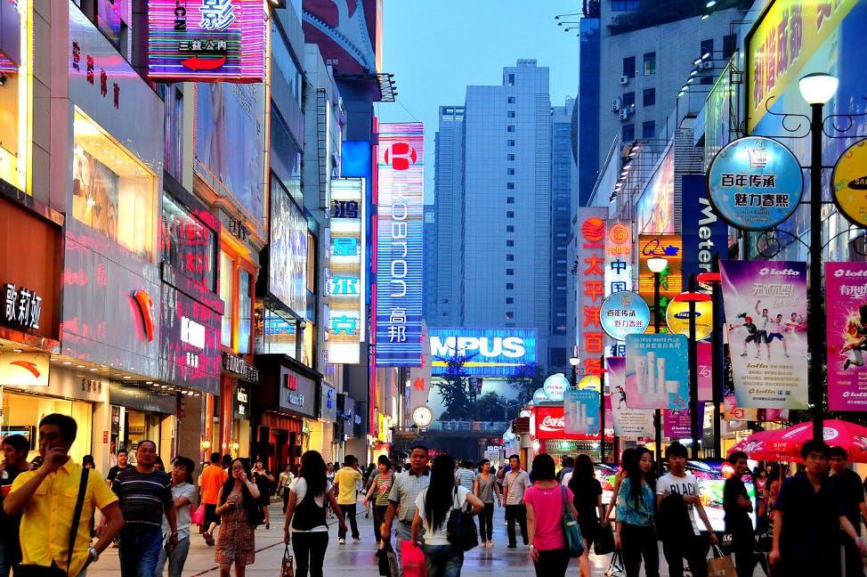 china city streets