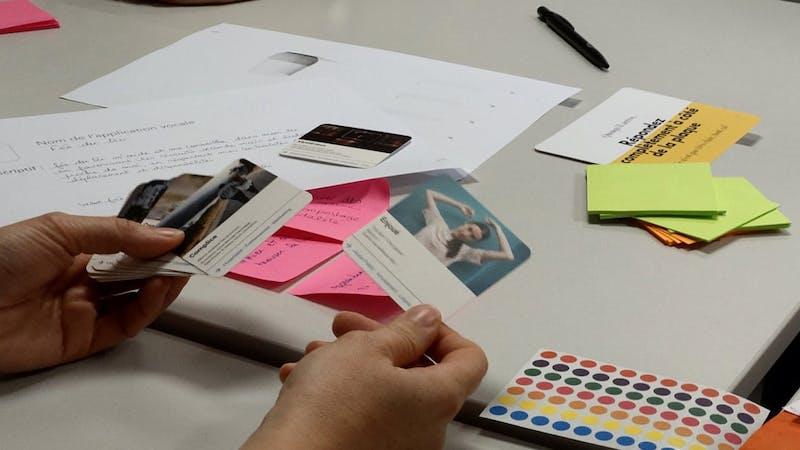 camp UX, conception UX, jeu de cartes