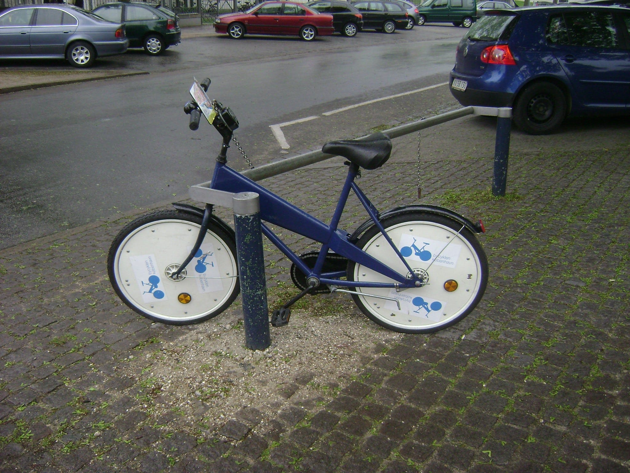A bicycle in the 'Copenhagen City Bikes' program