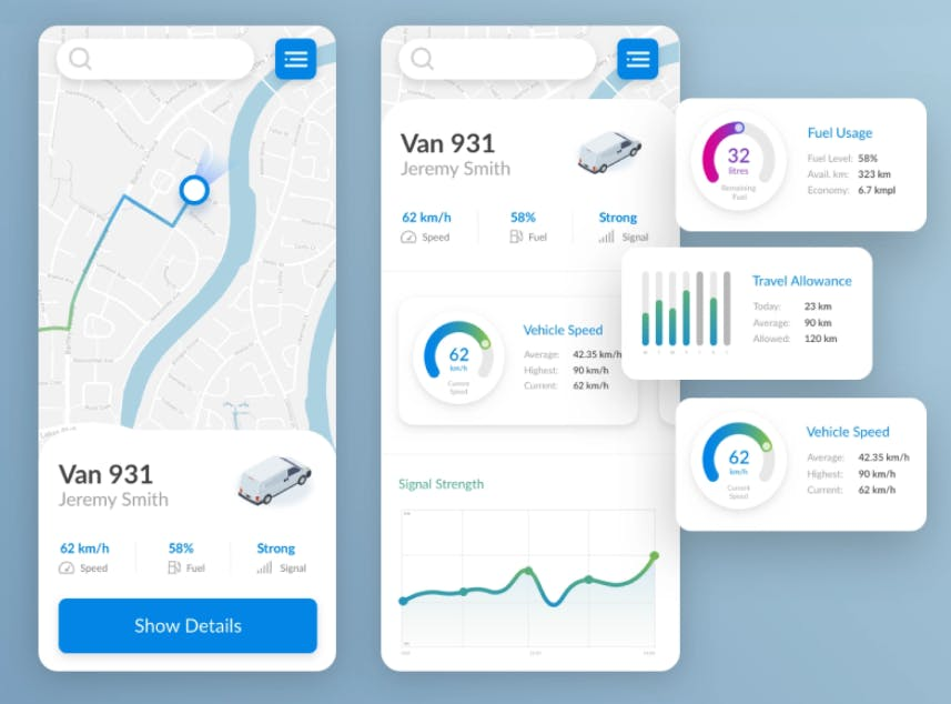 develop-truck-logistics-app