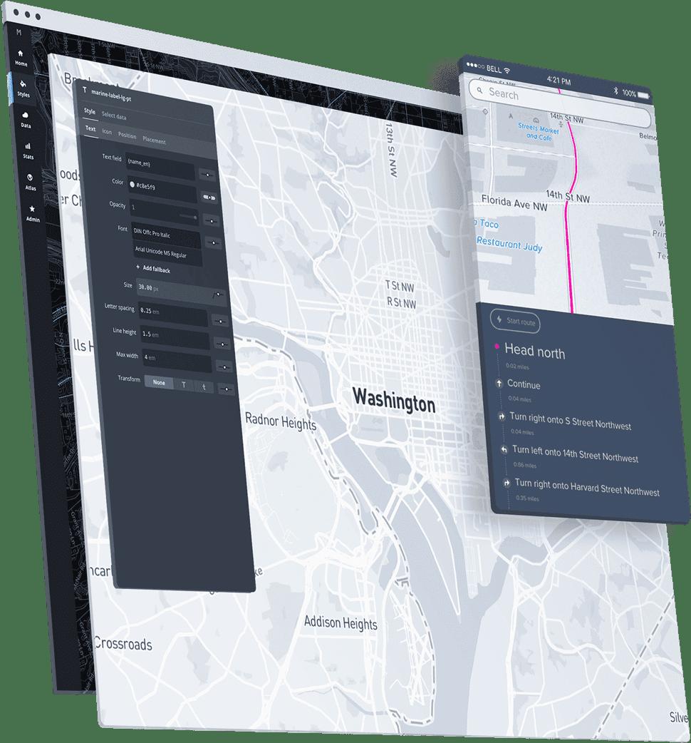 Atlas, an app for truck drivers