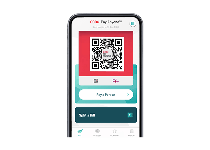qr code with cardless cash withdrawal