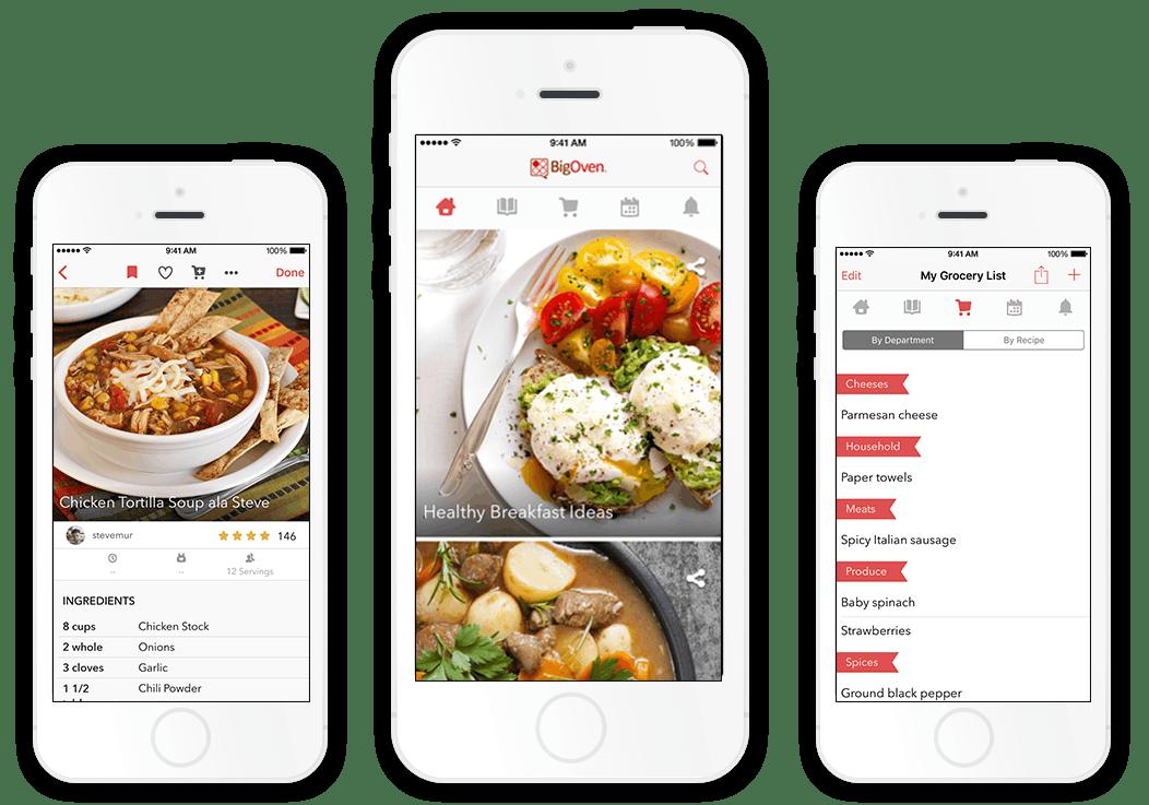example of pantry app