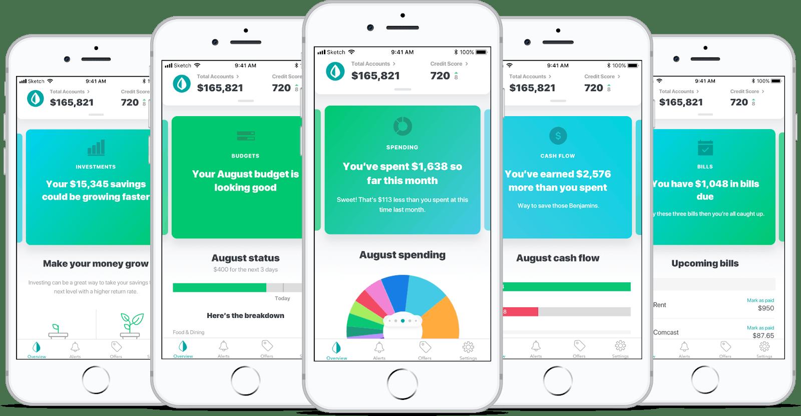 develop app like Mint