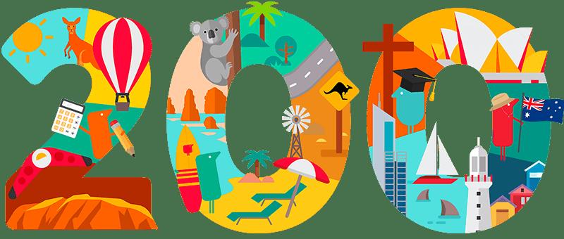 200 Years Graphic