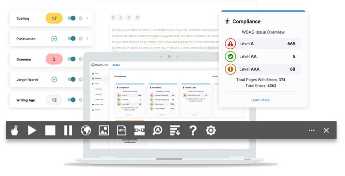 ReachDeck Product Interface Hero