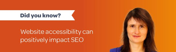 Did you know? Website accessibility can positively impact SEO