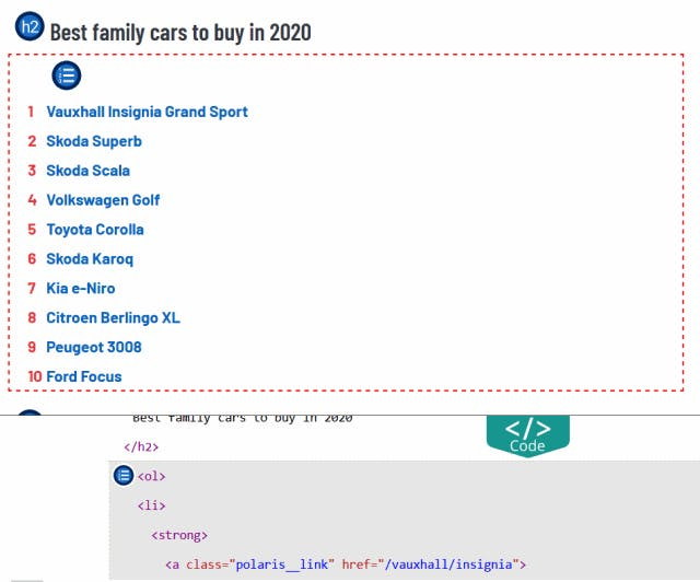 Best family cars to buy in 2020