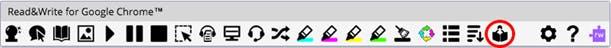 rw4gc, toolbar, ReadWrite, featuer
