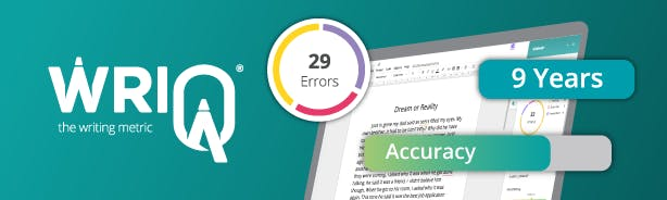 WriQ the writing achievement tool