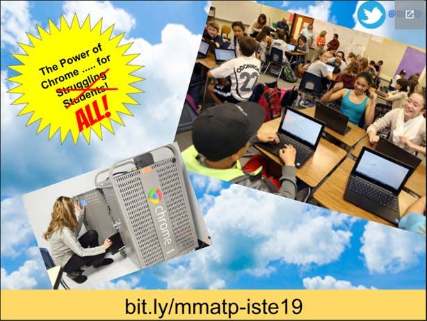 Slide from Mike Marotta's ISTE 2019 session