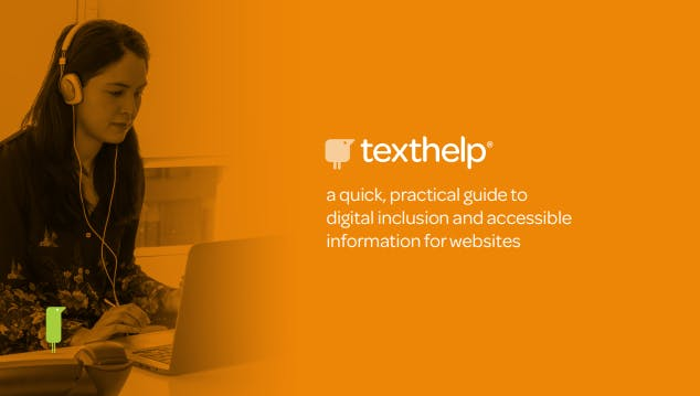 An image of the first page of the accessible information guide