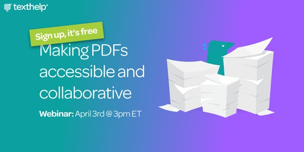 Making PDFs accessible and collaborative promotional image
