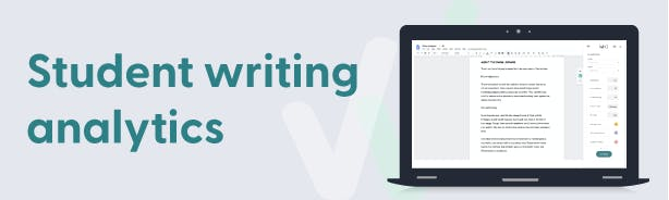 Student writing analytics