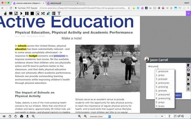 PDF Reader, Collaboration tools