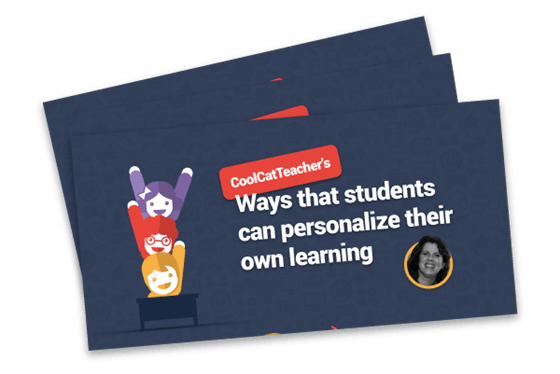 coolcatteacher's ways that students can personalize their own learning