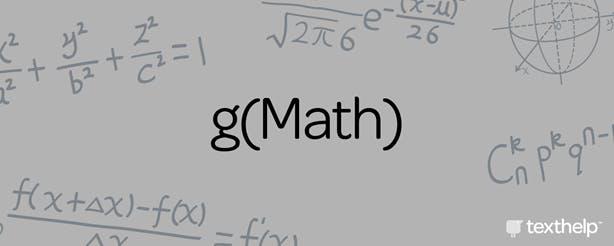 gMath equations