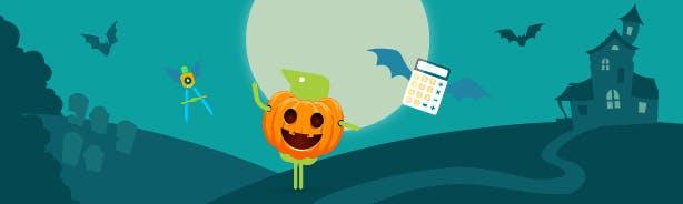 Banner Image of Texthelper Wearing Pumpkin Costume