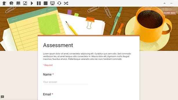 Screenshot of Read&Write in locked mode