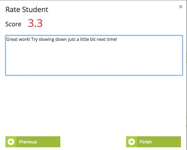 fluency tutor, feedback, rating