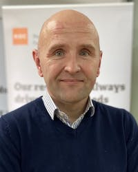 Headshot of Gordon McCullough, CEO, RIDC