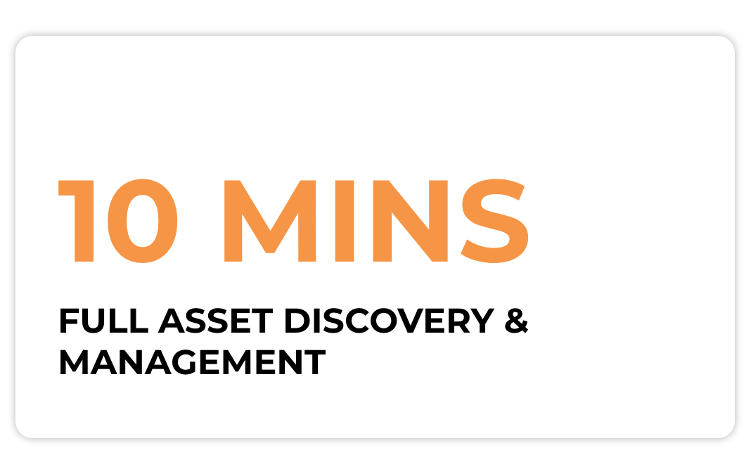 full asset discovery & management