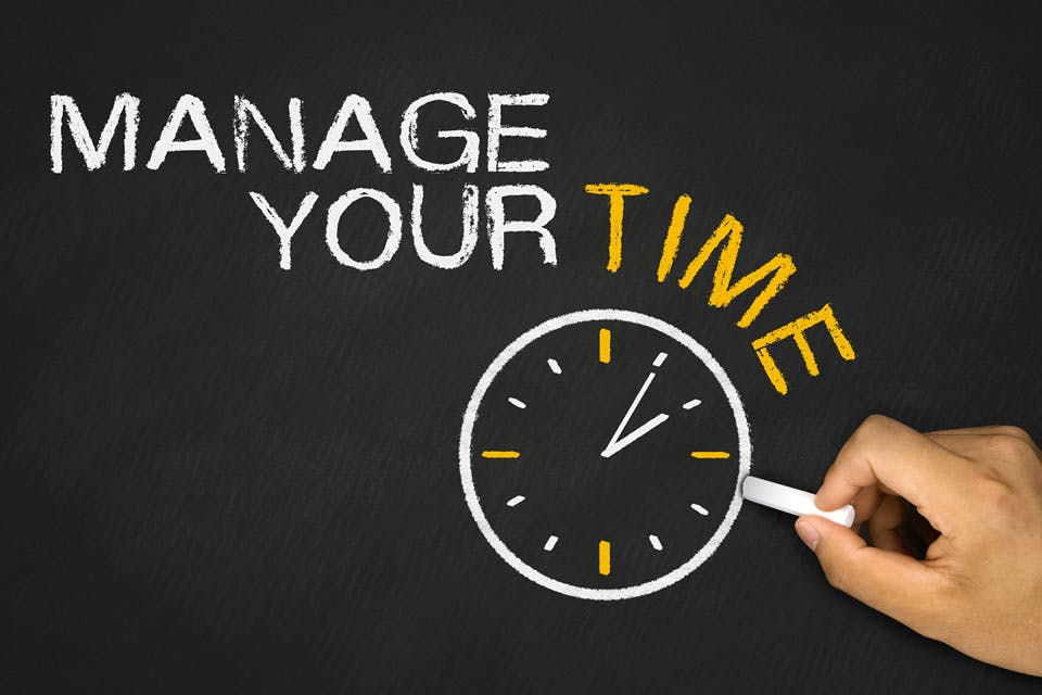 Get more out of life by improving your time management.