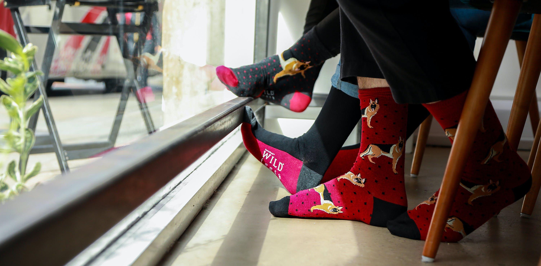 A walk on the wild side: a peek at Wild feet socks