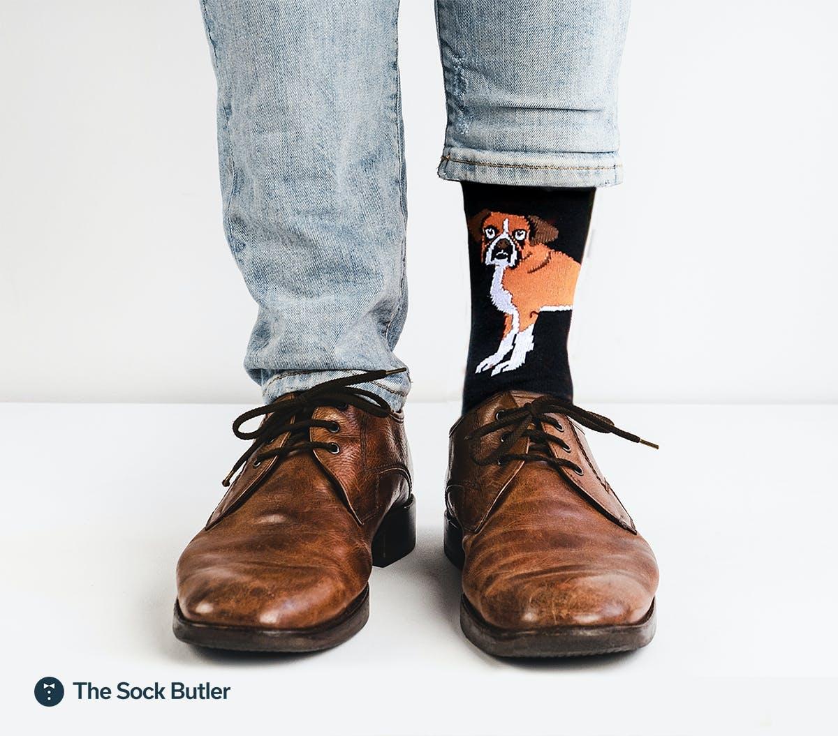 bull_dog_themed_socks