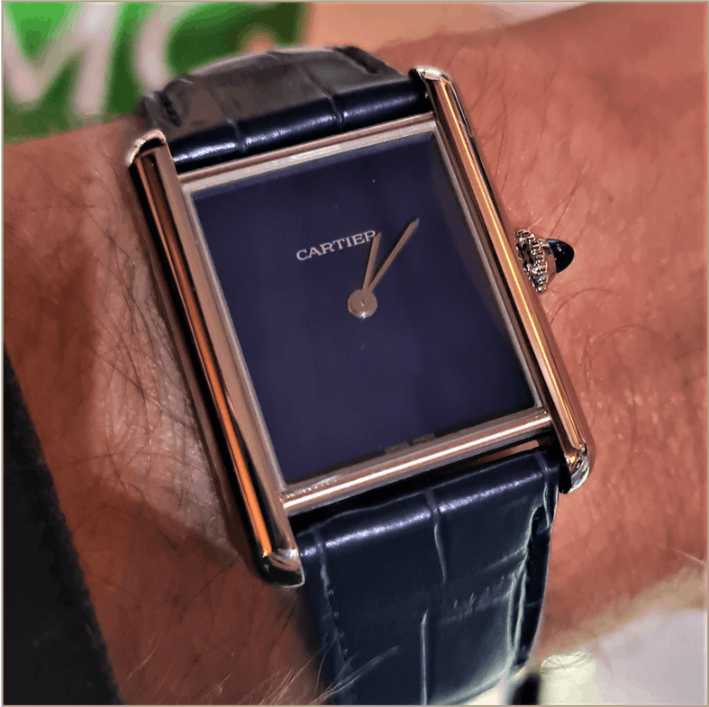 The new Cartier Tank Must