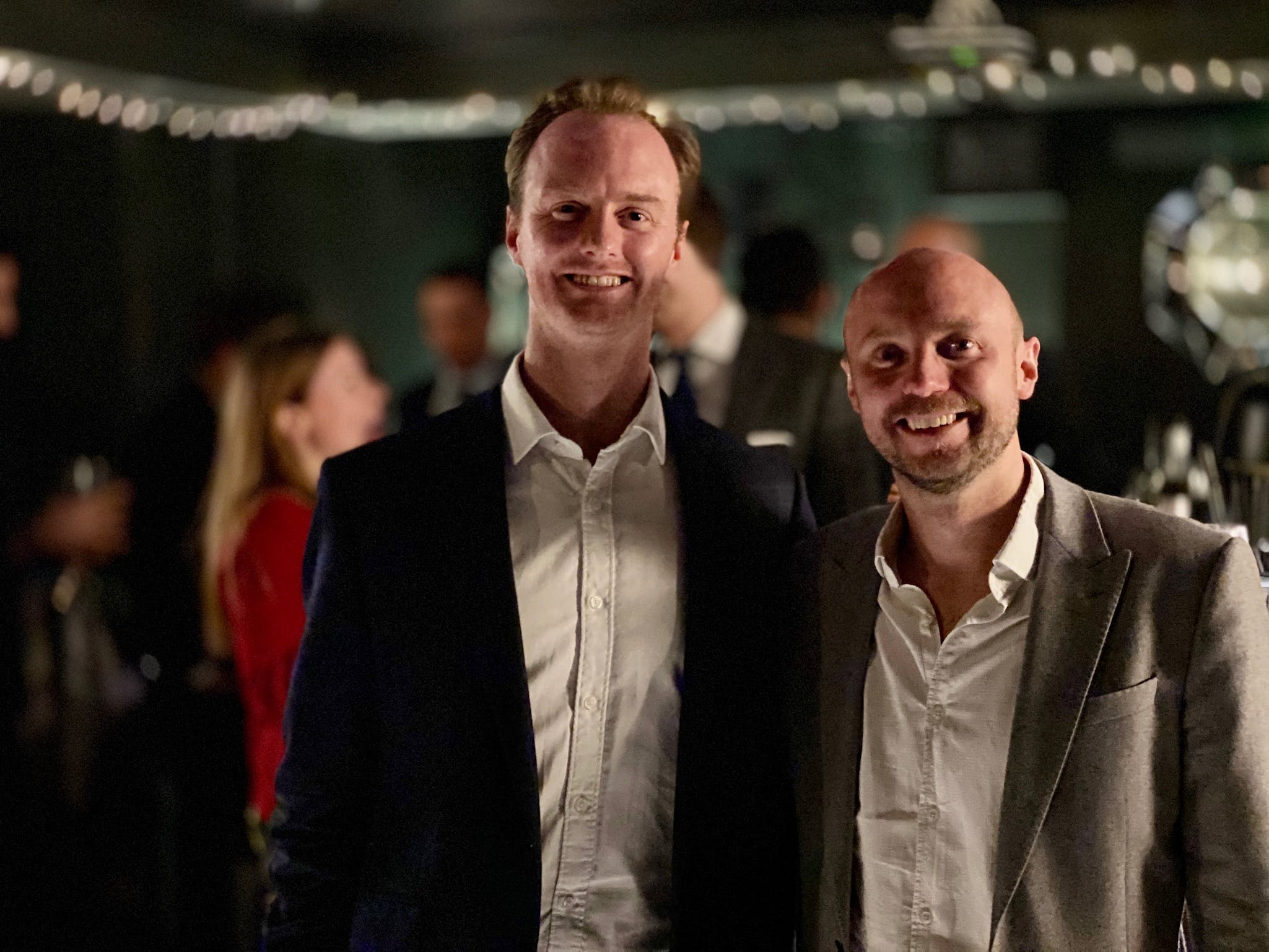 The Watch Collectors' Club Founders at our trial event in November 2019