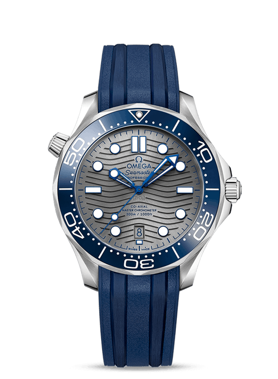 Omega Seamaster Diver 300m in Steel - the most popular watch Omega make.