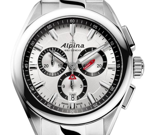 Alpina Quartz Chronograph in Steel