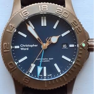 Christopher Ward C60 Trident Bronze GMT