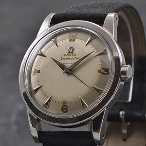Omega Seamaster from 1948 in Steel, Photo Credit: True Facet