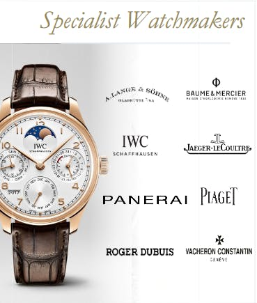The Watch brands of the Richemont Group