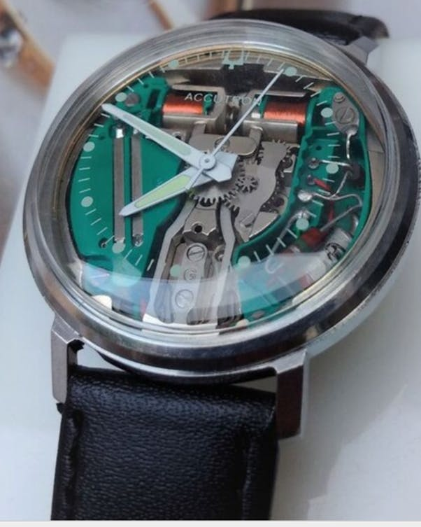 Bulova Accutron Spaceview from the 1970s