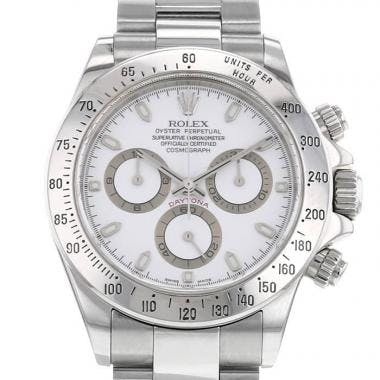 The Rolex Daytona is a famous Chronograph
