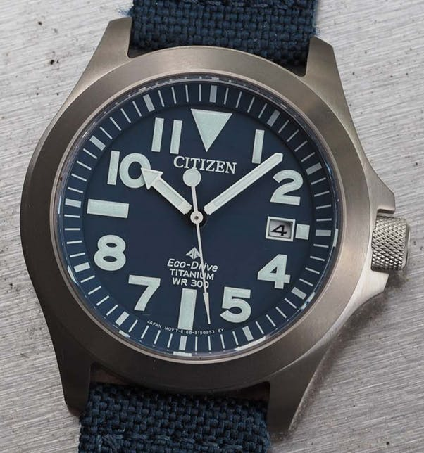 """The Citizen Promaster Tough """"Ray Mears"""", curently on the Buy List of The Watch Collectors' Club CEO"""
