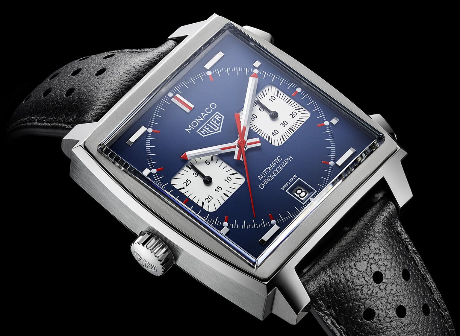 Tag Heuer Monaco - Made famous by Steve McQueen