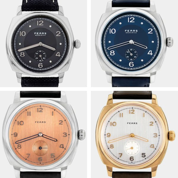 Grid of Four Fears Brunswick Watches