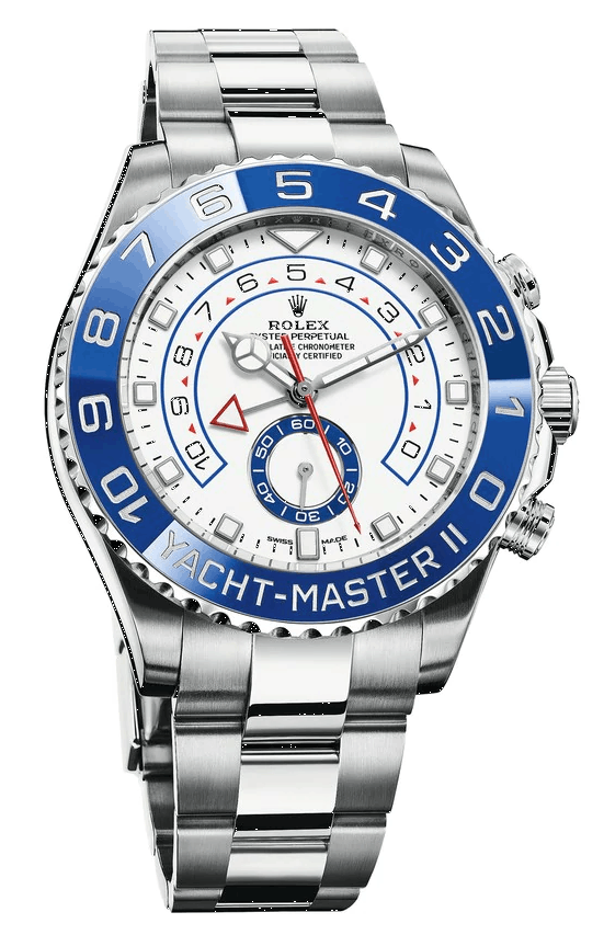 The Rolex Yachtmaster II is a regatta timer