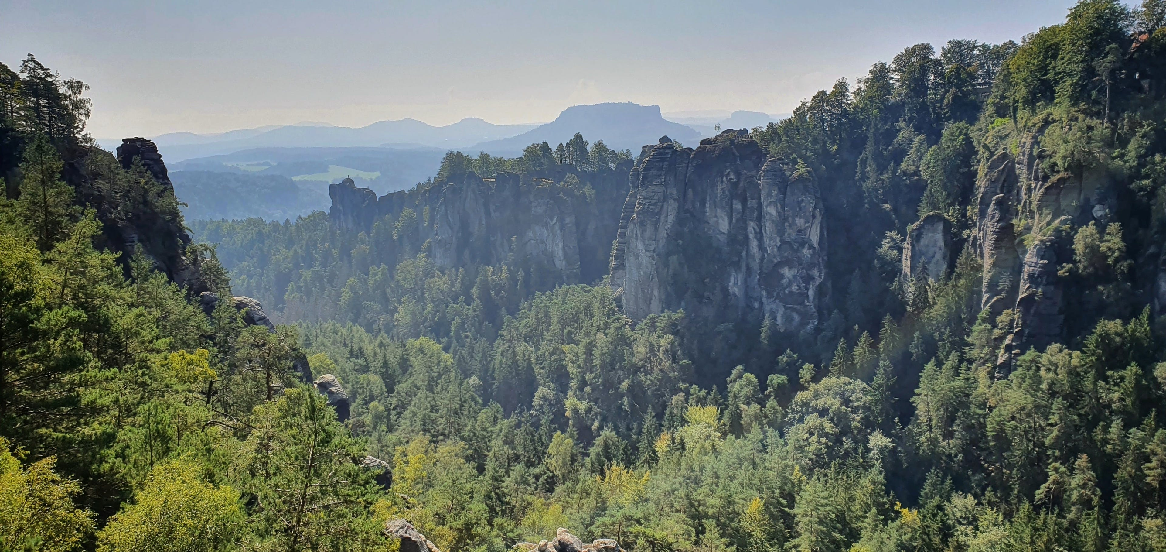 The Mountains of Saxony, East Germany