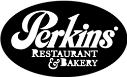 A logo reading Perkins Restaurant & Bakery.