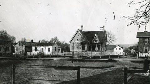 Douglass House and surrounding buildings