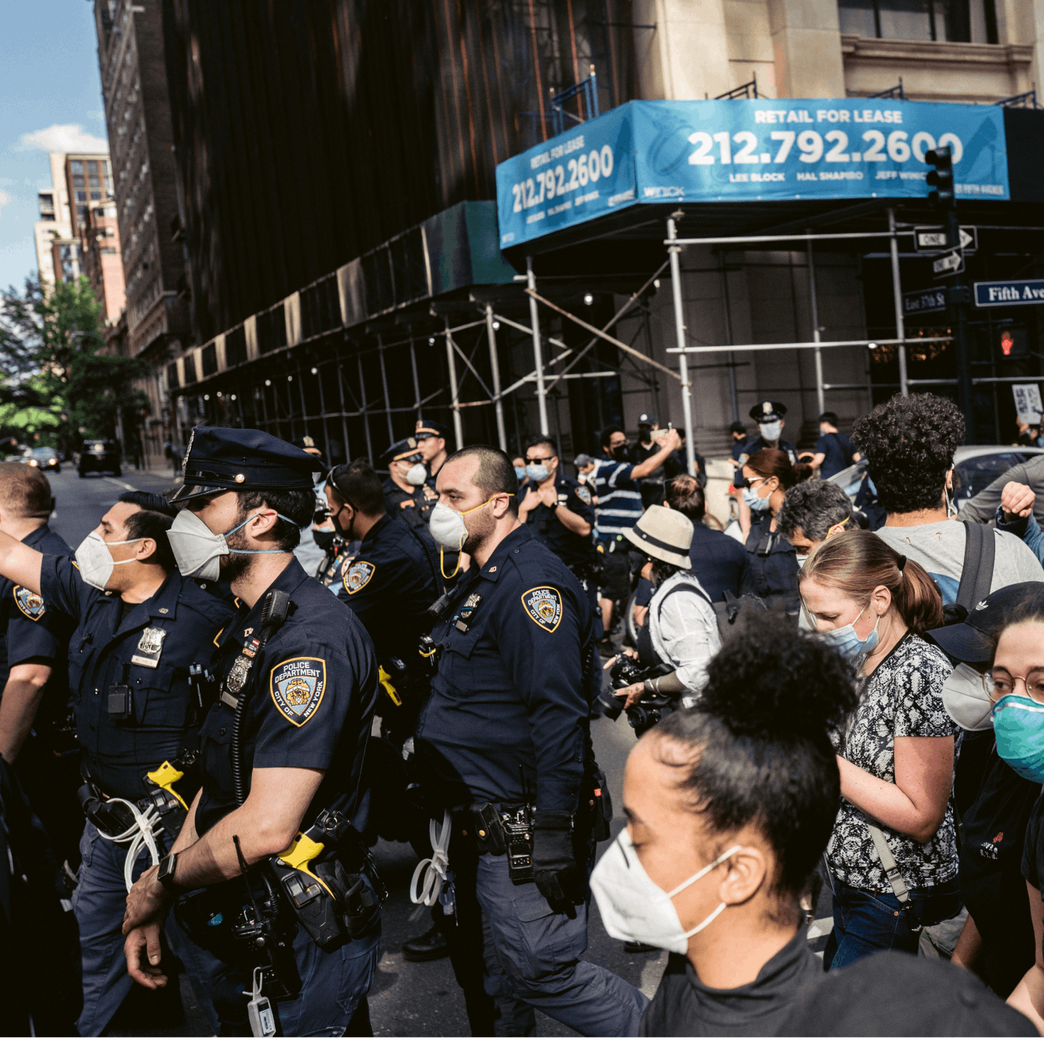 Protesting: Racism in My Police Department: Behind the Thin Blue Line