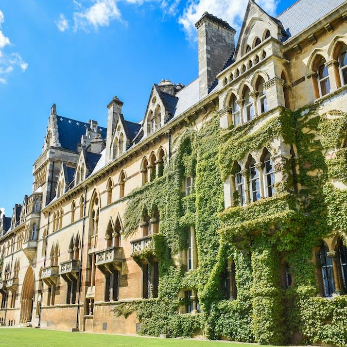 A college facade