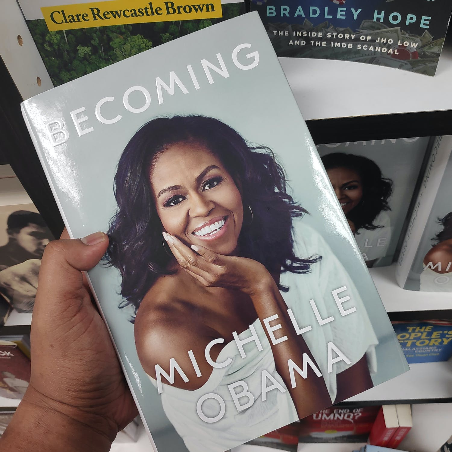 Michelle Obama's Becoming book